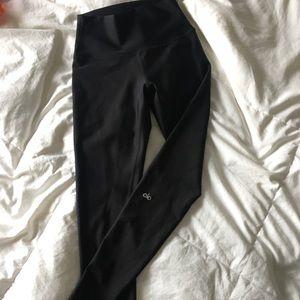 Alo black highwaist airbrush leggings Medium